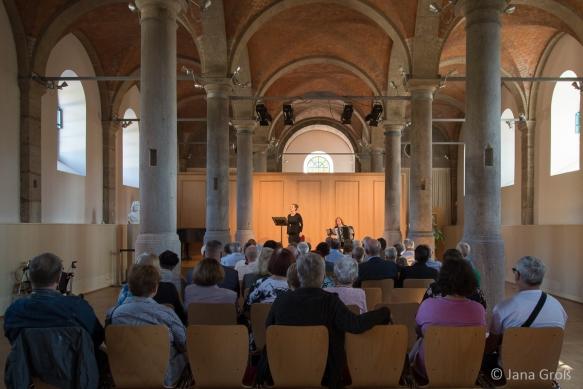 Noten mit Dip / KurtzWeill 2018, Landesmusikakademie Sondershausen © Jana Groß